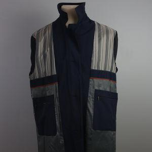 Bugatti Gore-tex Overcoat NWOT size L navy RARE